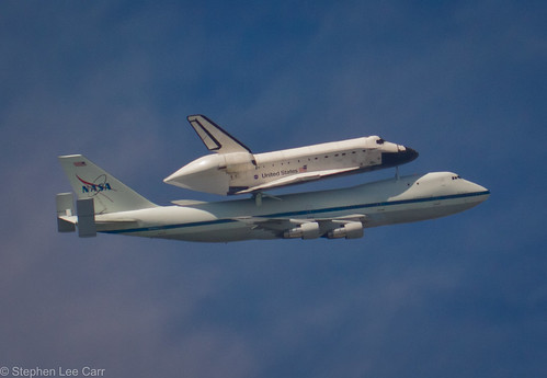 Space Shuttle Endeavour and the NASA 747 Shuttle Carrier Aircraft (SCA) | by Stephen Lee Carr