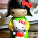 Hello Kitty Momiji Message Doll