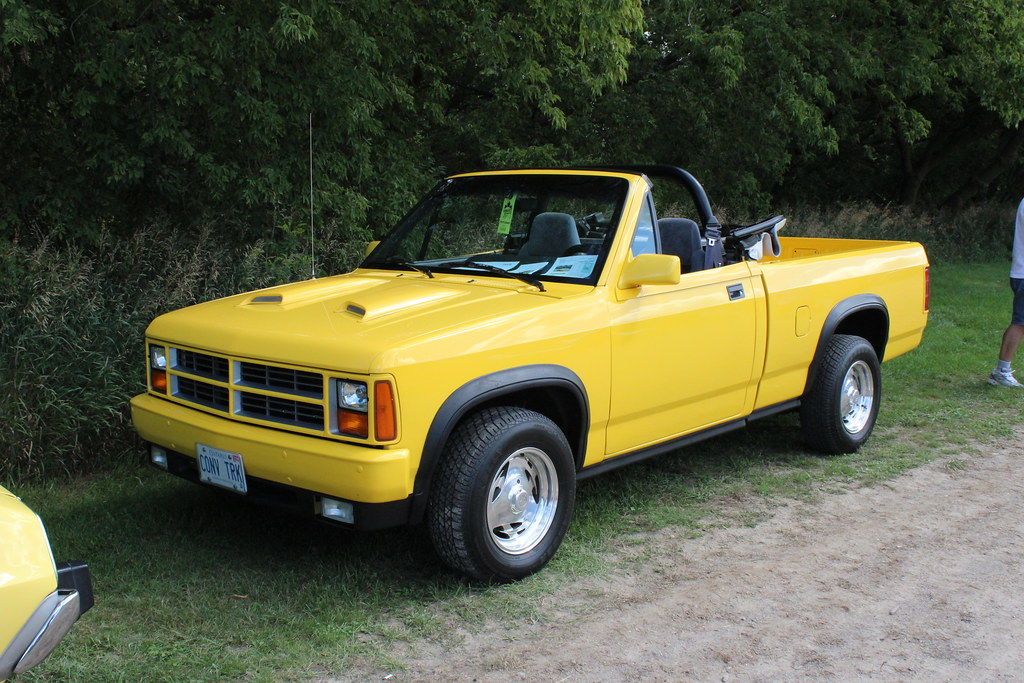 Dodge Dakota 2012 >> 1990 Dodge Dakota convertible pickup | Richard Spiegelman | Flickr