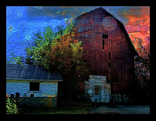 Barn Sunset | by Caroline.32
