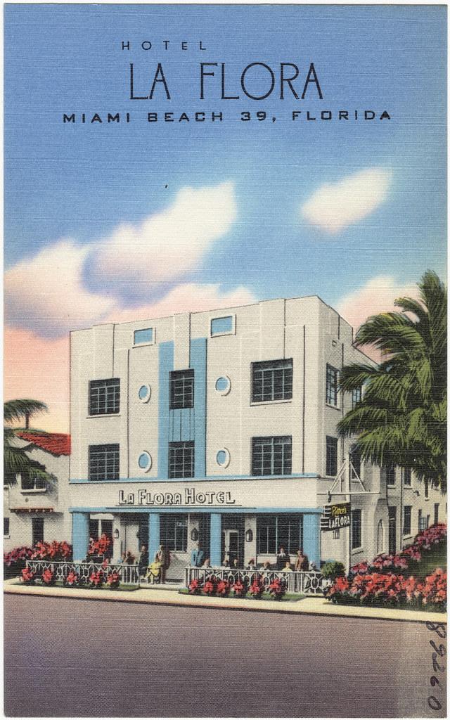 Hotel Flora Miami Beach Florida