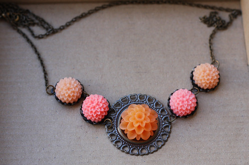 Filigree cabachon necklace | by Katarina Roccella