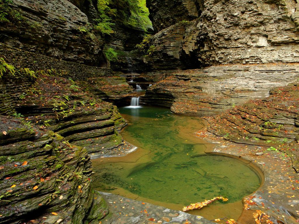 Watkins Glen Images >> Watkins Glen: Pools | Watkins Glen State Park, New York. (Se… | Shahid Durrani | Flickr