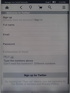 Sign up for twitter | by jesse