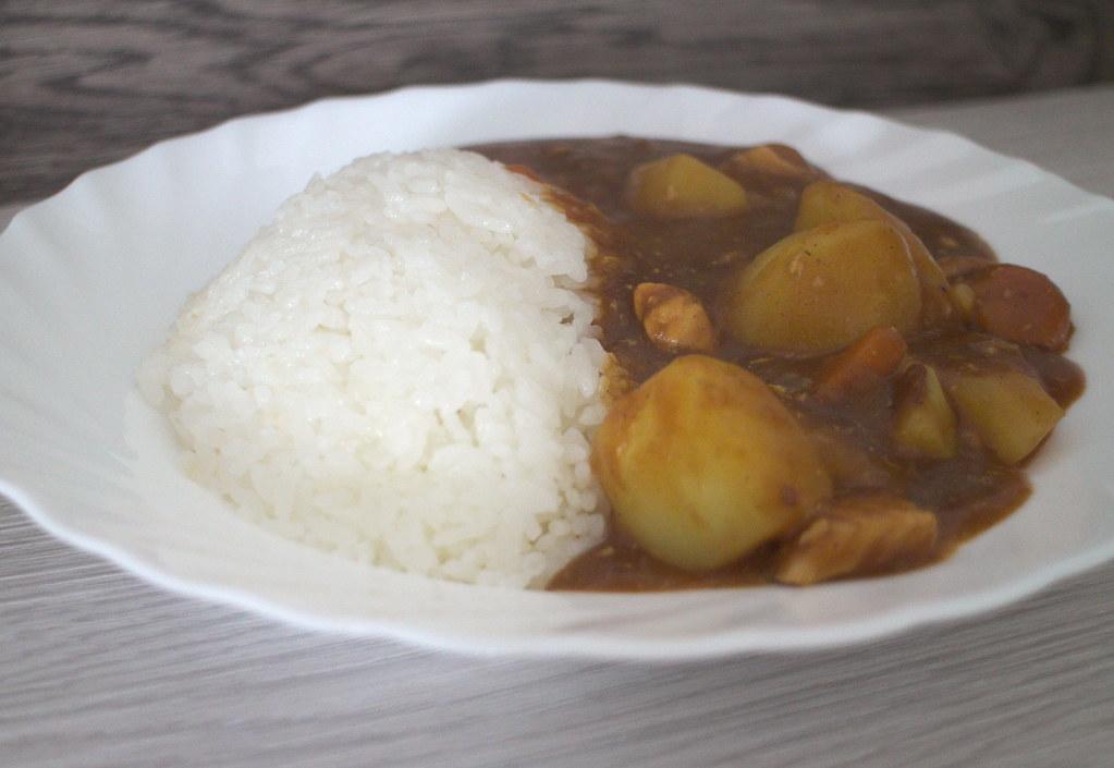 Japanischer Curry Reis Rezept