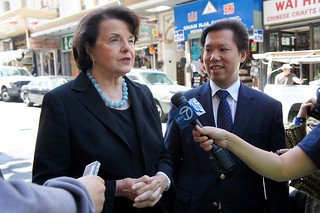 Senator Dianne Feinstein has endorsed David Lee for District 1 Supervisor | by davidleesf