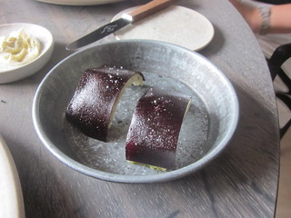 Noma - Copenhagen - August 2012 - Crispy Pork Skin and Black Currant (I think) | by garyalanfine
