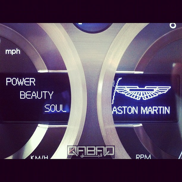 Aston Martin DB9 Power Beauty Soul , Sexy Welcome Message