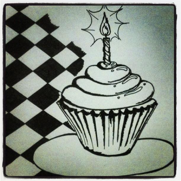 Birthday Drawing Ideas A birthday doodle.: imgarcade.com/1/birthday-drawing-ideas