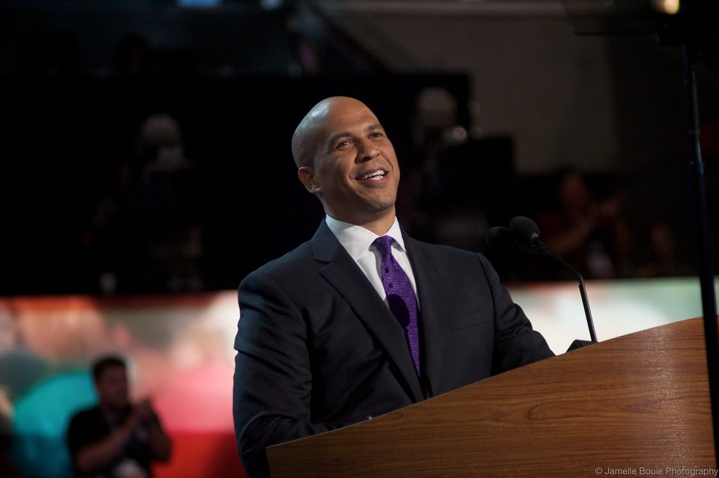 corey booker up close