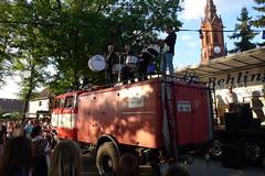 Sixpackk Percussion auf Feuerwehr W50 #1