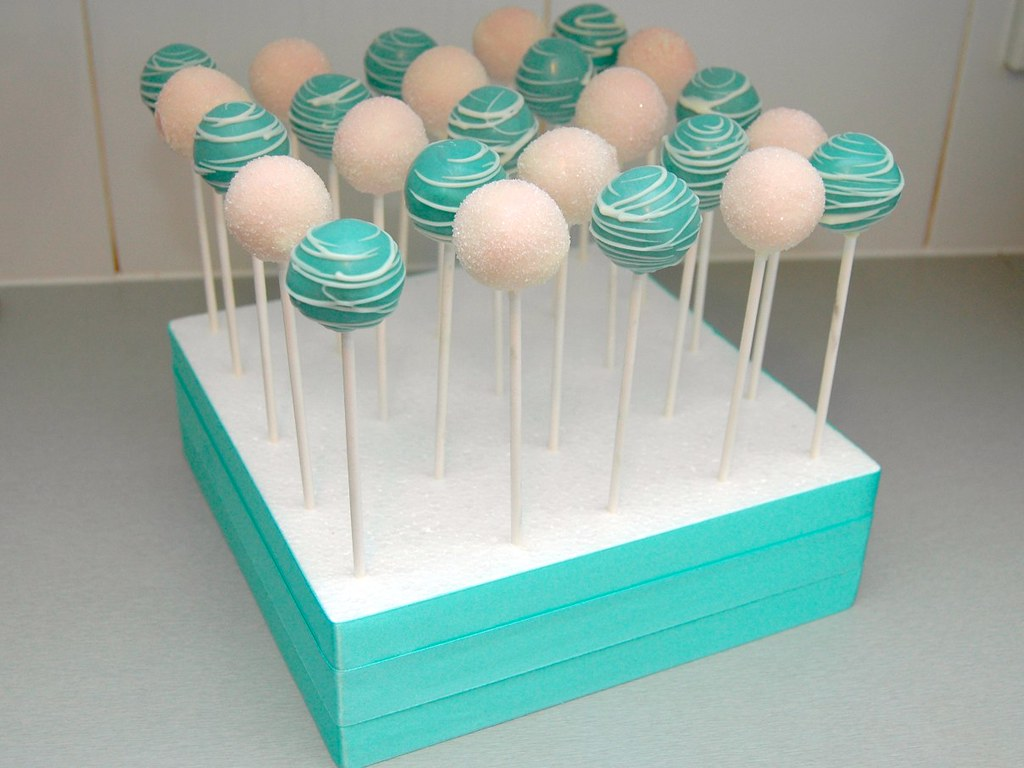 Tiffany And Co Cake Pops