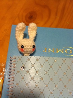 Bookmarker :) free pattern on bottom link from little yarn friends | by yayapr_26