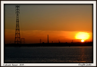 SUNSET OVER LAKESIDE...2011... | by Graffiti Junkie
