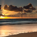 Sunset on Drigg Beach (L27)