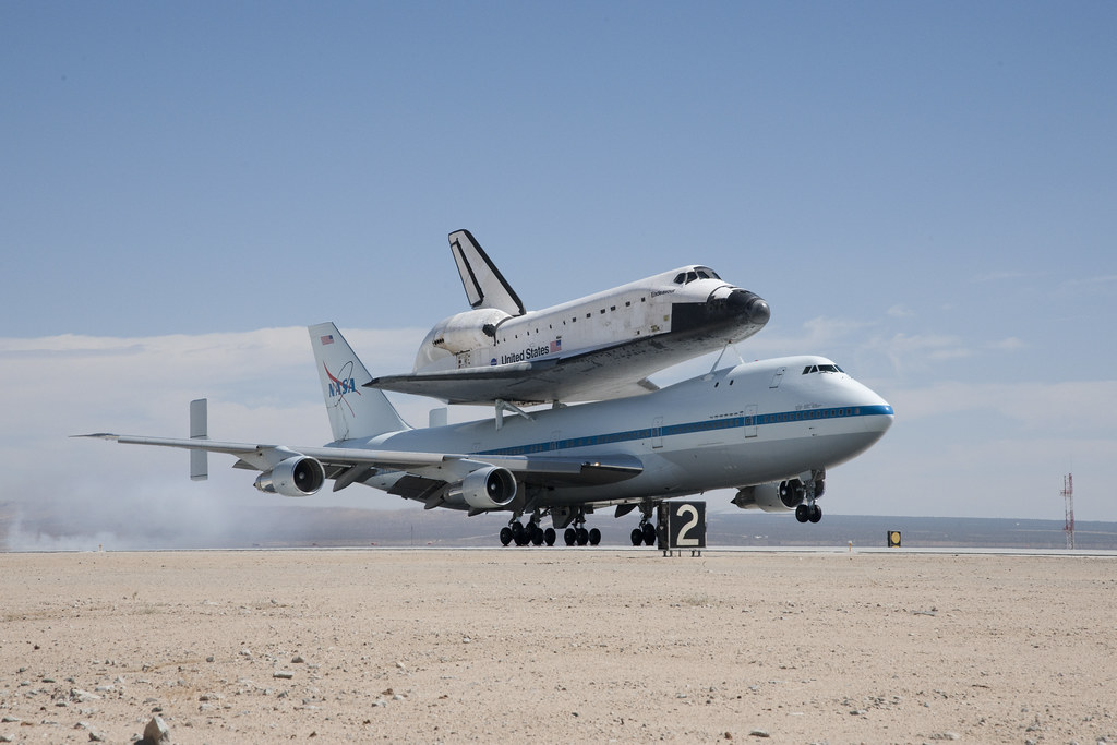 kelly afb space shuttle carrier aircraft - photo #14