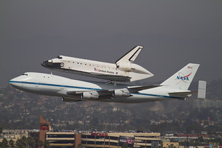 Space Shuttle EndeavourFlyby at LAX | by thumbelina0
