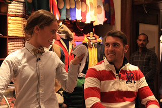 Kristen McNally and Charlie Davies at the Ralph Lauren Young Friend Insider event | by Royal Opera House Covent Garden