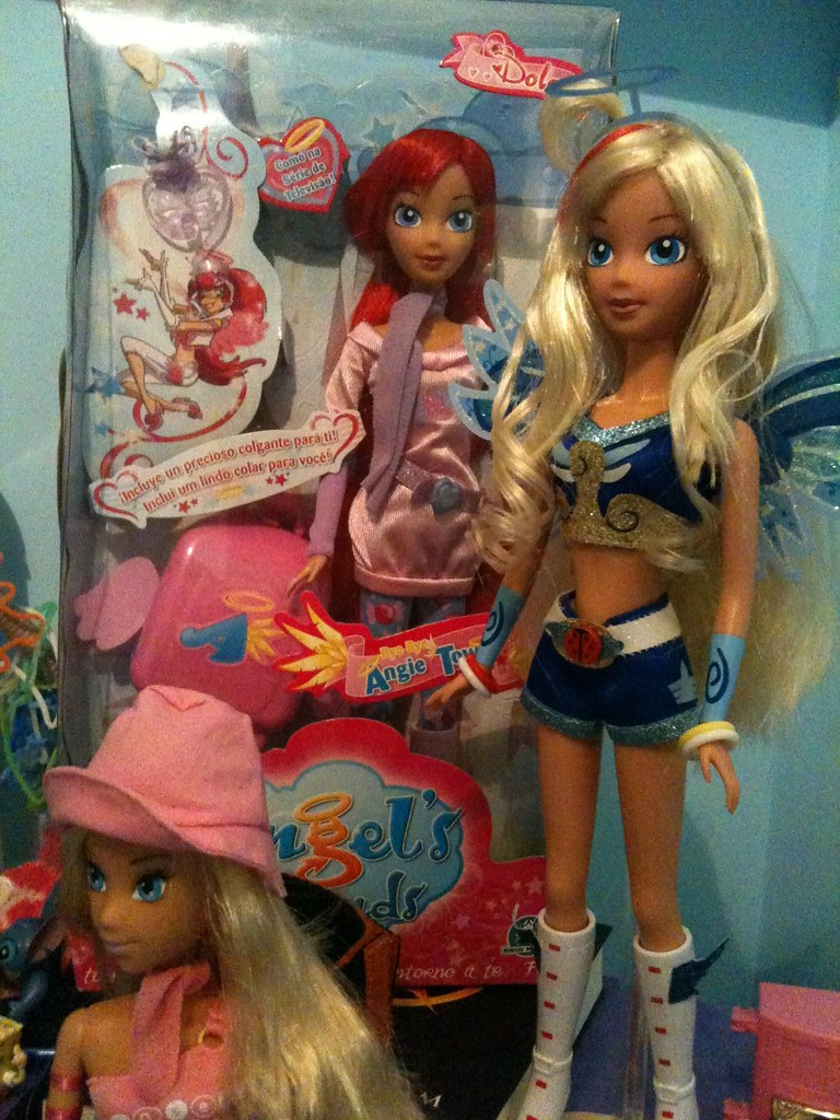My 2 angel's friends dolls, raf and sweet | Also u can see