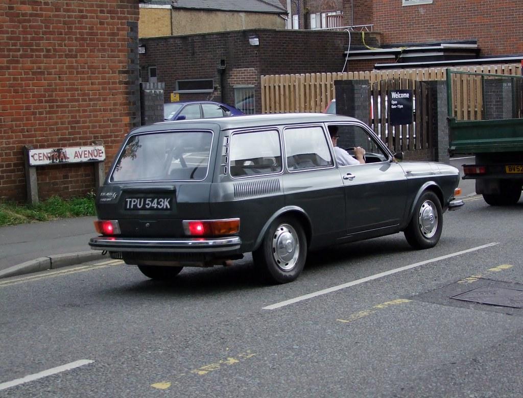 Vw 411 Le Variant Estate 1972 Volkswagen 411 Le Variant