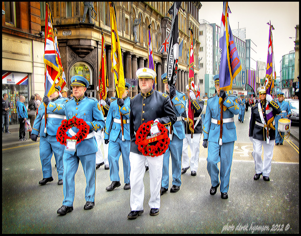 apprentice boys of derry marching through liverpool to cel flickr. Black Bedroom Furniture Sets. Home Design Ideas
