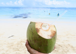 Gin & Coconut Water | by Nik Gee