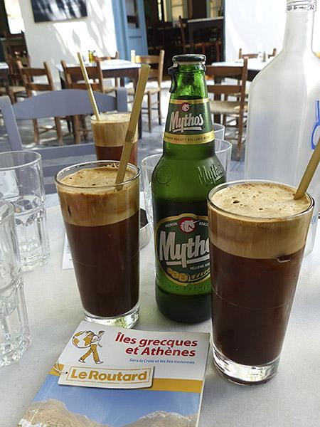 café frappé du dioskouroi