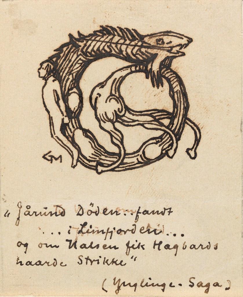 Gerhard Munthe - Kong Jørund's Death, 1899