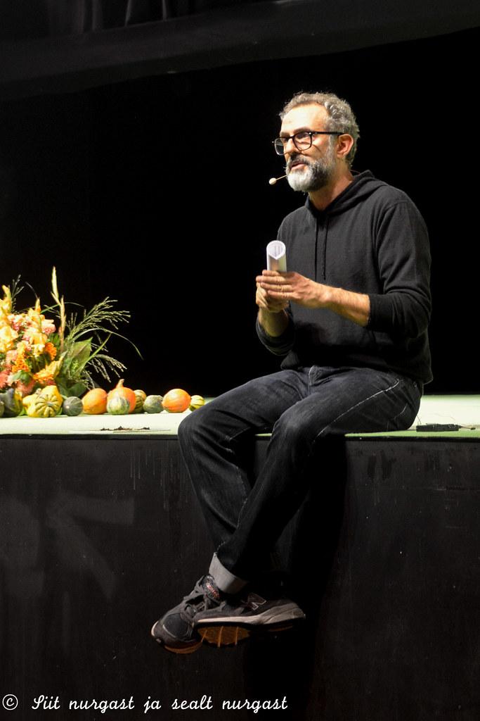 Massimo Bottura at Sauce2015 in Tallinn
