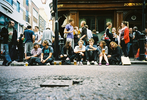 low down london drinkers | by lomokev