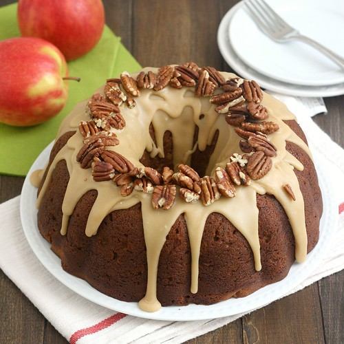 Apple-Cream Cheese Bundt Cake | by Tracey's Culinary Adventures