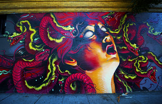 Medusa on Brick | by Steve Siri