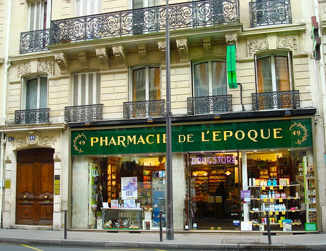 paris 6th arrondissement rue du four pharmacy flickr photo sharing. Black Bedroom Furniture Sets. Home Design Ideas