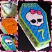 Monster High Cake Evolution