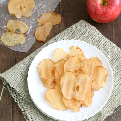 Caramelized Apple Chips | by Tracey's Culinary Adventures
