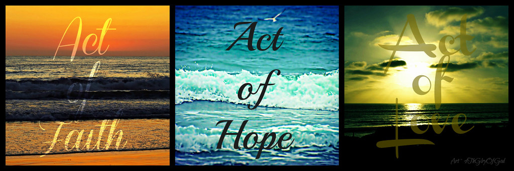 Romanceishope: Act Of Faith Hope Love Collage - Text