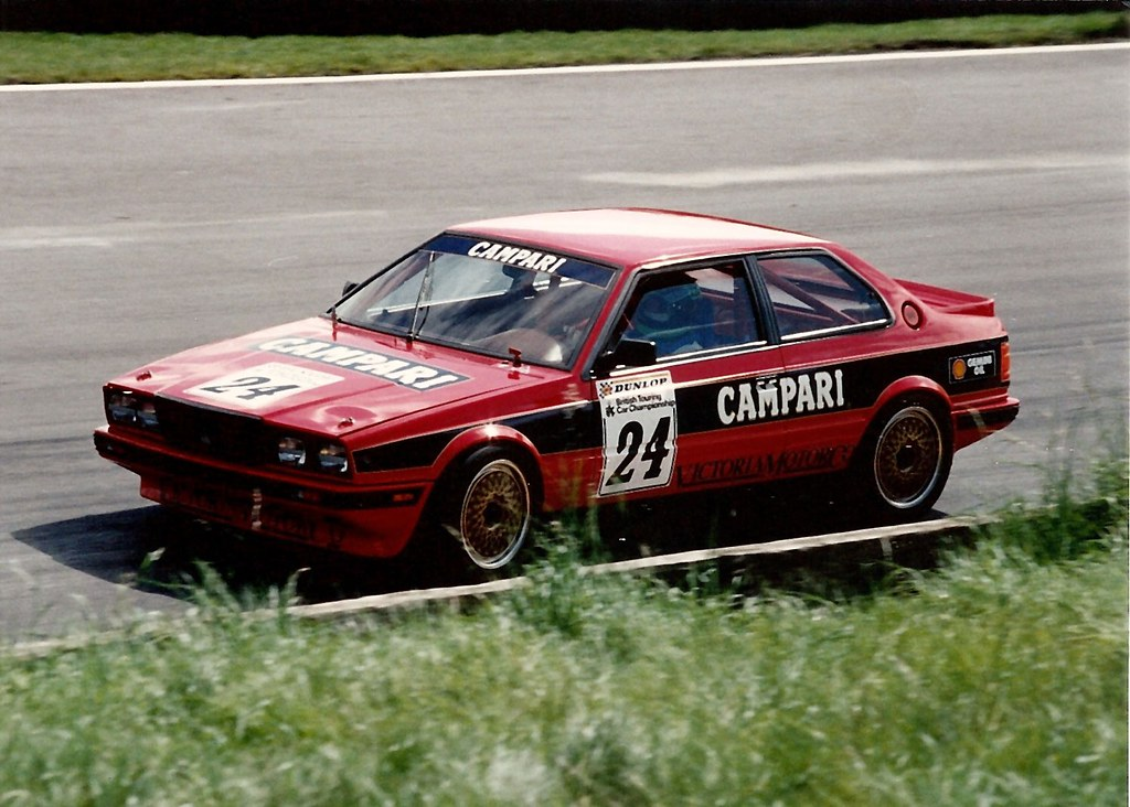Brands Hatch BTCC 1988 - Maserati Biturbo | The Maserati ...