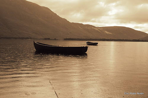 Loch Maree (Sepia) | by eric robb niven