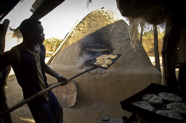 Cooking in Chad