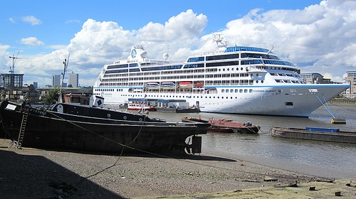 The cruise ship and the tug | by Andy Worthington