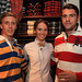 Dawid Trzensimiech, Kristen McNally and Charlie Davies