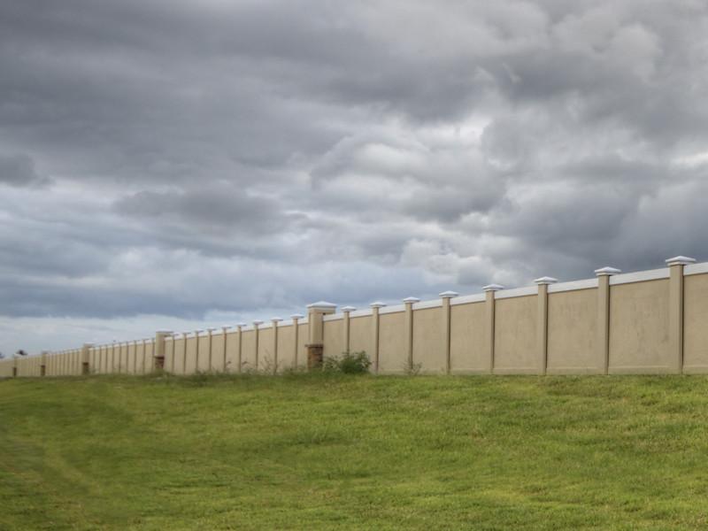 Precast Concrete Perimeter Fence Commercial Projects Durab