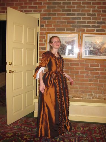 1770s Robe a la Anglaise