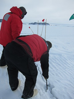 Testing the EGT sea ice crack | by sandwichgirl