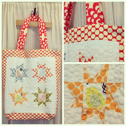 big quilted tote | by goddessinprogress