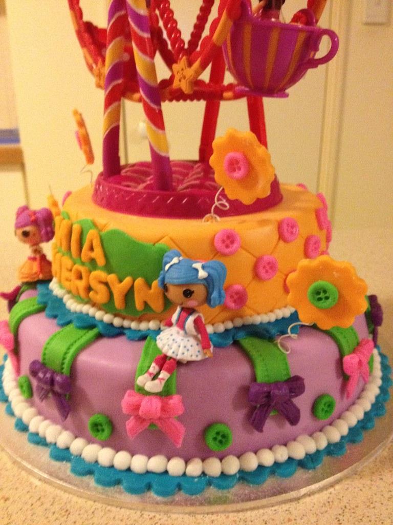 Lalaloopsy Ferris Wheel Birthday Cake Girls Lalaloopsy Bir Flickr