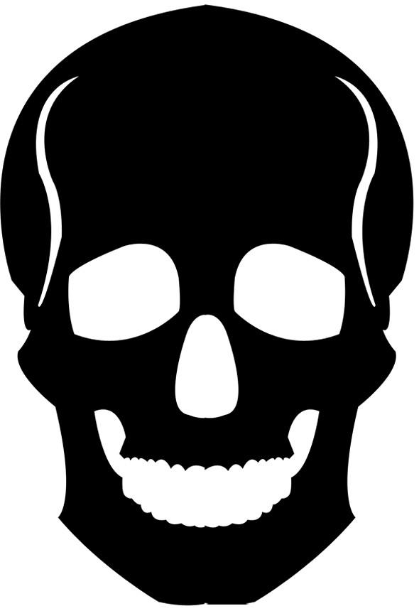 skull template lilymolly2004 flickr