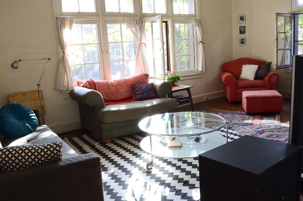 Afghan Living Room