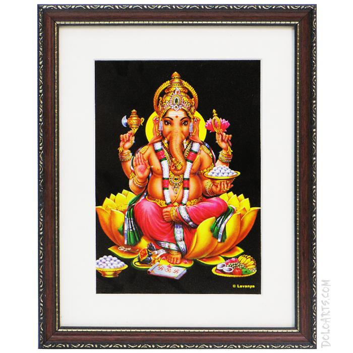buy shree siddhivinayak photo frames online doloartscom by webbeets