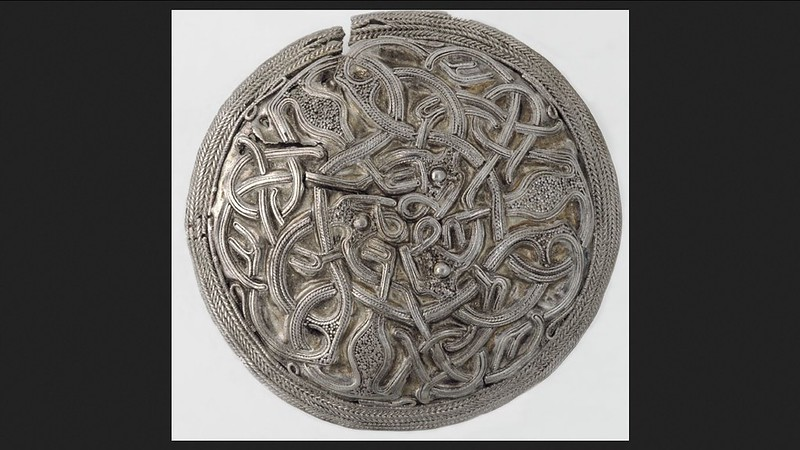 sølvspenna også en valknute
